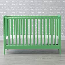 Image Nursery Decor Crate And Barrel Carousel Crib kelly Green Reviews Crate And Barrel
