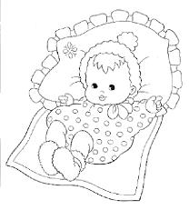 Kleurplaat Geboorte