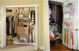 ... Storing Luggage Closet Ideas For Small Rooms Benefits Clothes Cluttered  White Bigger Interior Furniture Doors ...