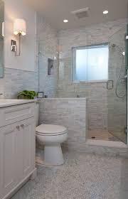half wall shower   Like the half wall, not the tile   Bathroom ideas  