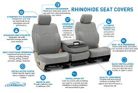 rhinohide custom seat covers