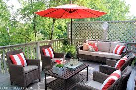 simple yet elegant outdoor patio furniture red umbrella outdoor with outdoor patio furniture