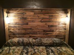 Homemade Headboard Ideas Best 25 Homemade Headboards Ideas On Pinterest  Rustic Furniture