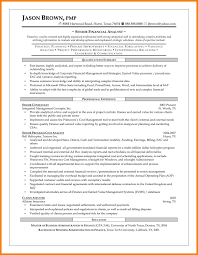 12 Financial Analyst Sample Resume Offecial Letter