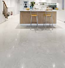 Lazenby Oyster White Polished Concrete Floor And Also Red Idea Black And  White Kitchen Floor Pictures
