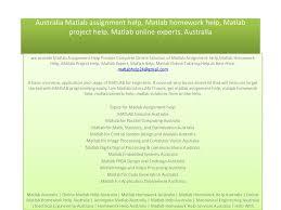 matlab assignment experts help matlab assignment matlab assignment