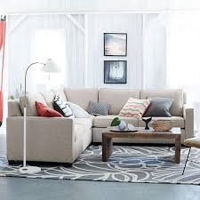 Henry 3 Piece L Shaped Sectional | West Elm   PERFECT Size For Your