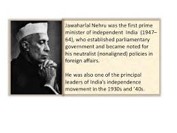 a presentation on the first prime minister of jawaharlal nehru nehru dressed in cadet uniform at harrow school in england