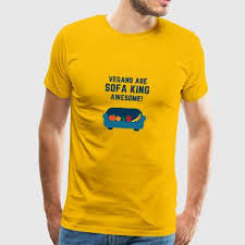 sofa king awesome. Delighful Awesome VEGANS ARE SOFA KING AWESOME  Menu0027s Premium TShirt To Sofa King Awesome