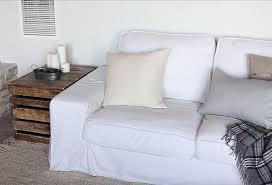 linen 3 seater custom sofa slipcovers