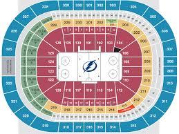 Tampa Bay Lightning Vs New York Rangers Amalie Arena