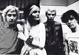 siouxsie and the banshees in 1981 left to right budgie siouxsie steven severin and john mcgeoch
