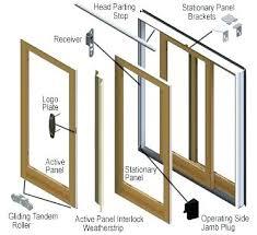 anderson patio door lock repair sliding door parts series gliding patio door sliding glass door screen