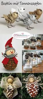 Weihnachtsbasteln Mit Tannenzapfen