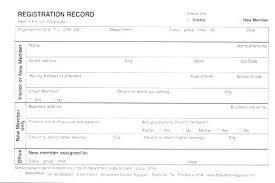 Club Membership Form Template Club Membership Form Template Word Elegant Printable Registration