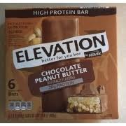 millville elevation chocolate peanut er high protein bar nutrition grade d