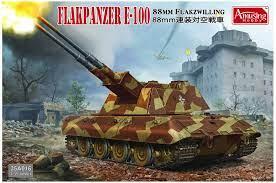 1/35 8,8cm Flakpanzer E-100   Vše pro modeláře Art Scale