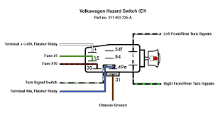 vw thing wiring diagram vw emergency switch wiring diagram thesamba com thing type 181 view topic emergency hazard image have