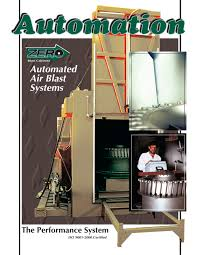 Clemco Industries Blast Cabinets Automated Air Blast Systems Clemco Industries Pdf Catalogue