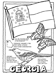 Small Picture Georgia USState coloring page Art Doodles LJ Coloring