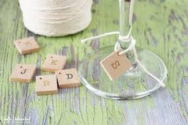 scrabble wine glass charms crafts unleashed 1