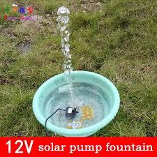 solar power fountain pool water pump garden irrigation supplies