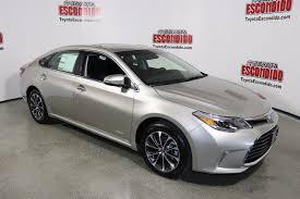 New 2018 Toyota Avalon Hybrid XLE Plus 4dr Car in Escondido ...
