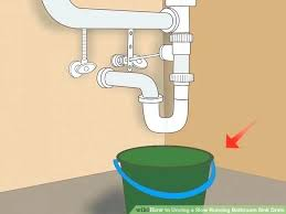 home remedy for clogged drain with standing water unstop kitchen drain photo 1 of image titled home remedy for clogged drain with standing water