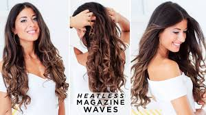 Luxy Hair Style how to heatless waves hair tutorial luxy hair youtube 4392 by wearticles.com