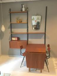 mid century royal system wall unit with