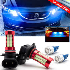 2008 Honda Civic Daytime Running Lights Ice Blue Led Daytime Running Light Bulbs Drl For Honda
