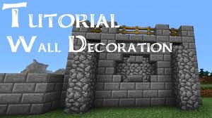 minecraft wall designs. Wall Decoration Minecraft Art And Designs N