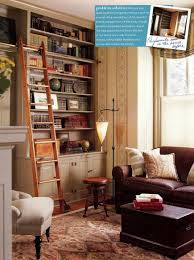 library home office renovation. Rolling Library Ladder In A Converted Home Office - Renovation Style Via Atticmag