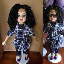 Artist Creates Custom Made Dolls with Vitilligo Skin Condition