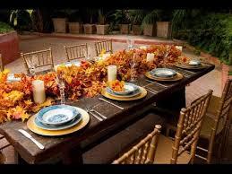 autumn table decorations centerpieces