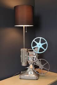 hollywood lighting fixtures. Vintage Table Lamp / Desk - Keystone Regal 8MM Projector Hollywood Décor Lighting Fixtures N