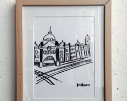 Small Picture Melbourne station Etsy