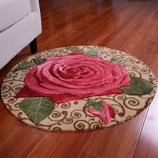 ddwe baby play mat carpet rugs peony children educational babygym floor flower rug for babie