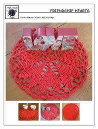 Friendship Hearts Crochet Pattern 143 For Doily Kindle