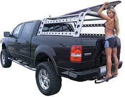 Truck Ladder Racks by Go Rhino | Vehicle things | Pinterest | Trucks ...
