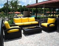 yellow patio furniture. Yellow Patio Furniture Collection In Outdoor Table And Chairs When Is The Best . O