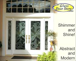shimmering modern decorative glass inserts replace builders view larger image replace glass in double front doors