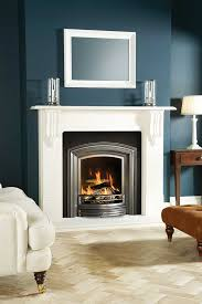 stovax alexandra cast iron inset fireplace with victorian corbel mantel
