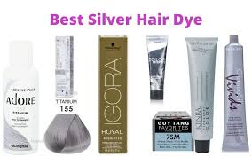top 10 best silver hair dye for men and