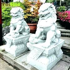 outdoor lion statues large small outdoor lion statues