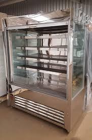 used multideck shutter stainless steel caffe nero 1 300 vat