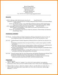 9 Biology Resume Examples Quit Job Letter