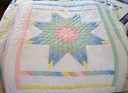 Handmade Amish baby Quilts and Baby Blankets for Sale & Lone Star Amish Baby Quilt Full View Adamdwight.com