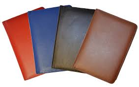 red blue black british tan journal covers leather classic journals