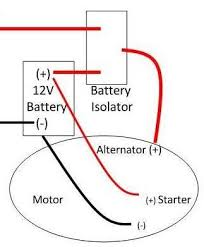 battery isolator, boat wiring 3 battery boat wiring diagram at Boat Battery Isolator Wiring Diagram